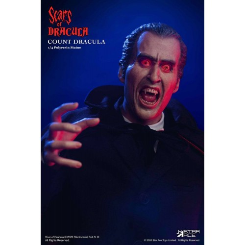 Scars of Dracula Statue 1/4 Count Dracula 2.0 DX Version 53 cm Star Ace Toys - 6