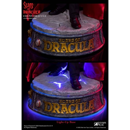 Scars of Dracula Statue 1/4 Count Dracula 2.0 DX Version 53 cm Star Ace Toys - 7