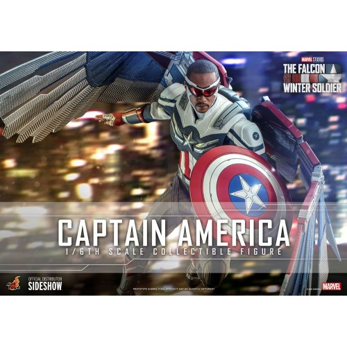 The Falcon and The Winter Soldier Action Figure 1/6 Captain America 30 cm Hot Toys - 2