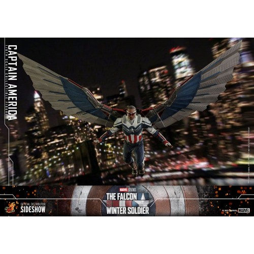 The Falcon and The Winter Soldier Action Figure 1/6 Captain America 30 cm Hot Toys - 3