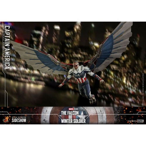 The Falcon and The Winter Soldier Action Figure 1/6 Captain America 30 cm Hot Toys - 4