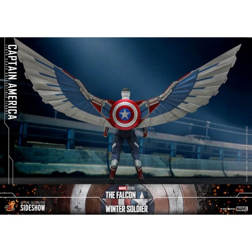 The Falcon and The Winter Soldier Action Figure 1/6 Captain America 30 cm Hot Toys - 5