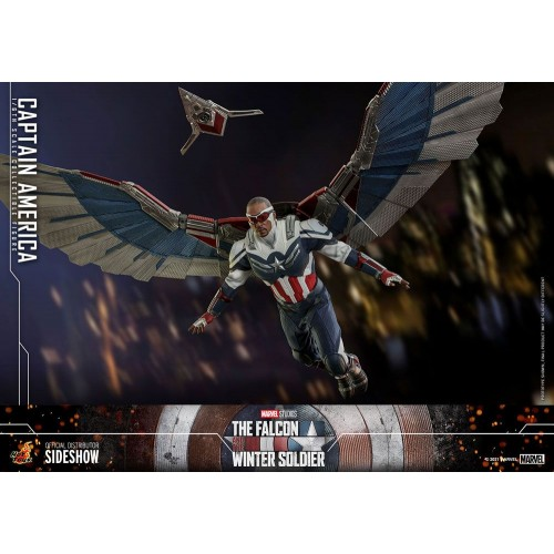 The Falcon and The Winter Soldier Action Figure 1/6 Captain America 30 cm Hot Toys - 6