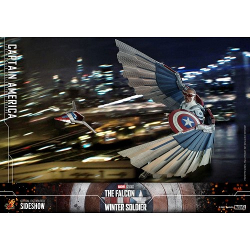 The Falcon and The Winter Soldier Action Figure 1/6 Captain America 30 cm Hot Toys - 7
