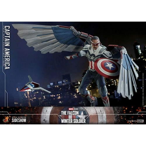 The Falcon and The Winter Soldier Action Figure 1/6 Captain America 30 cm Hot Toys - 8