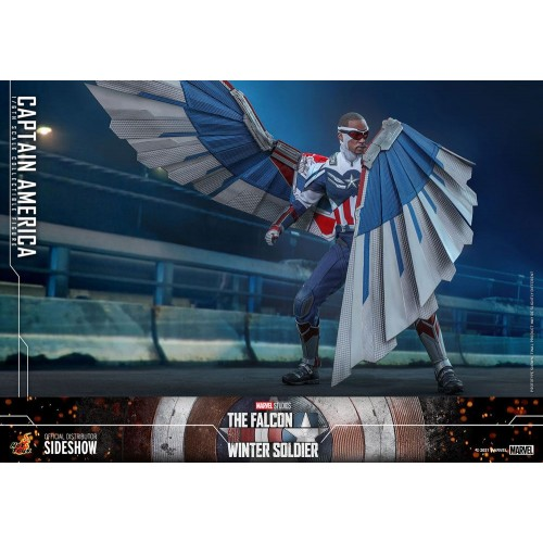 The Falcon and The Winter Soldier Action Figure 1/6 Captain America 30 cm Hot Toys - 9