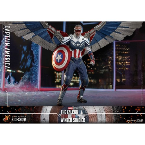 The Falcon and The Winter Soldier Action Figure 1/6 Captain America 30 cm Hot Toys - 10