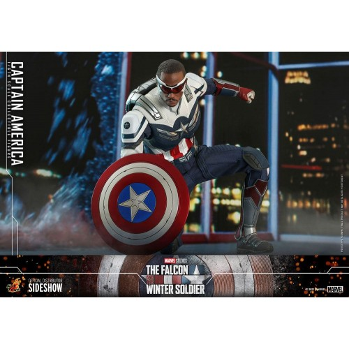 The Falcon and The Winter Soldier Action Figure 1/6 Captain America 30 cm Hot Toys - 11