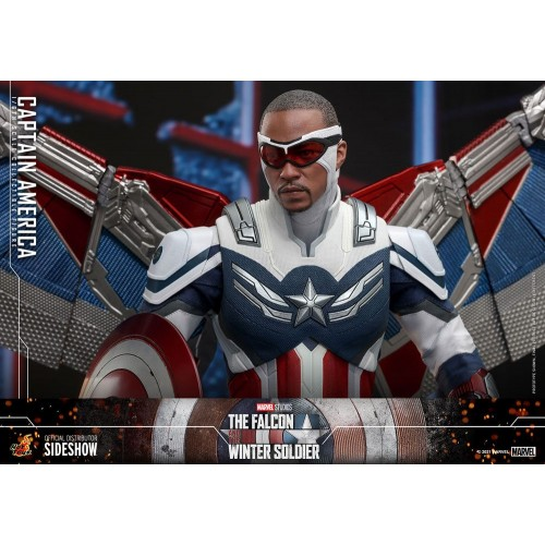 The Falcon and The Winter Soldier Action Figure 1/6 Captain America 30 cm Hot Toys - 12