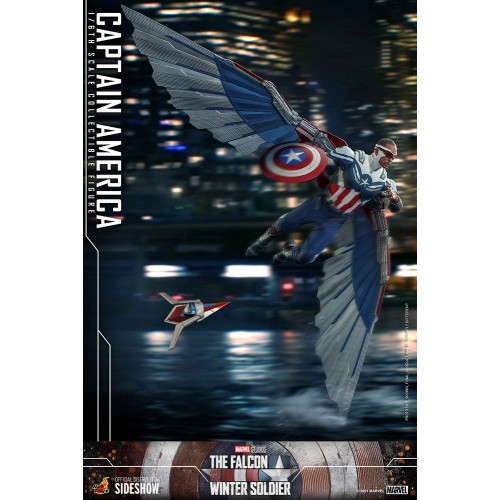 The Falcon and The Winter Soldier Action Figure 1/6 Captain America 30 cm Hot Toys - 15