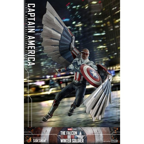 The Falcon and The Winter Soldier Action Figure 1/6 Captain America 30 cm Hot Toys - 16