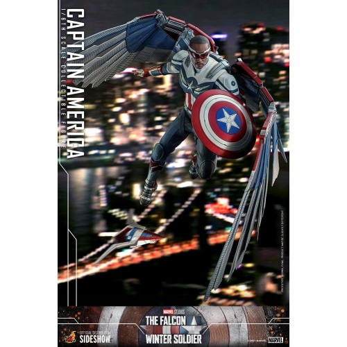 The Falcon and The Winter Soldier Action Figure 1/6 Captain America 30 cm Hot Toys - 17
