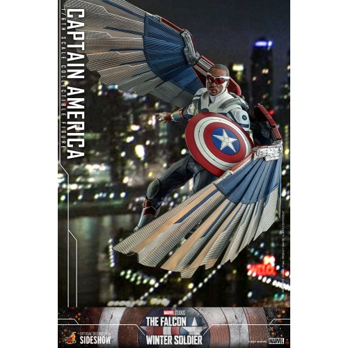 The Falcon and The Winter Soldier Action Figure 1/6 Captain America 30 cm Hot Toys - 19