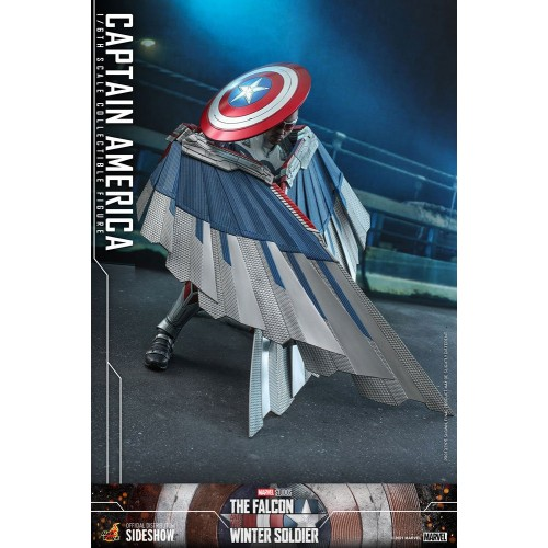 The Falcon and The Winter Soldier Action Figure 1/6 Captain America 30 cm Hot Toys - 20
