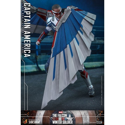 The Falcon and The Winter Soldier Action Figure 1/6 Captain America 30 cm Hot Toys - 21