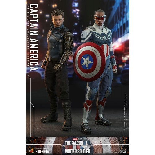 The Falcon and The Winter Soldier Action Figure 1/6 Captain America 30 cm Hot Toys - 22