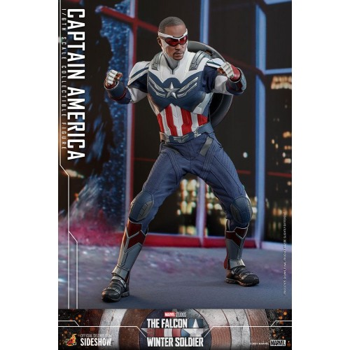 The Falcon and The Winter Soldier Action Figure 1/6 Captain America 30 cm Hot Toys - 23