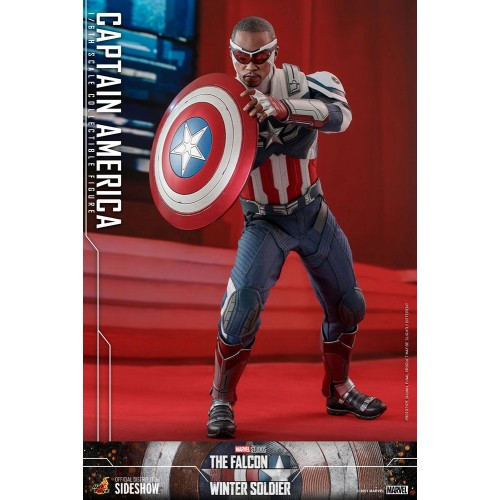 The Falcon and The Winter Soldier Action Figure 1/6 Captain America 30 cm Hot Toys - 24