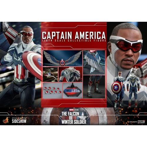 The Falcon and The Winter Soldier Action Figure 1/6 Captain America 30 cm Hot Toys - 25