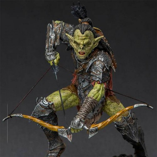 Lord Of The Rings BDS Art Scale Statue 1/10 Archer Orc 16 cm Iron Studios - 1