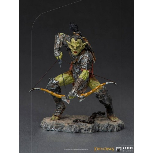 Lord Of The Rings BDS Art Scale Statue 1/10 Archer Orc 16 cm Iron Studios - 2