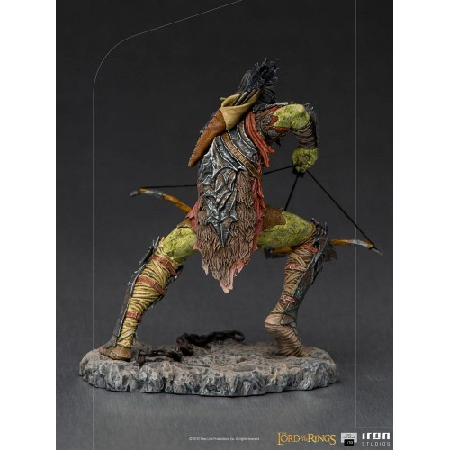 Lord Of The Rings BDS Art Scale Statue 1/10 Archer Orc 16 cm Iron Studios - 4