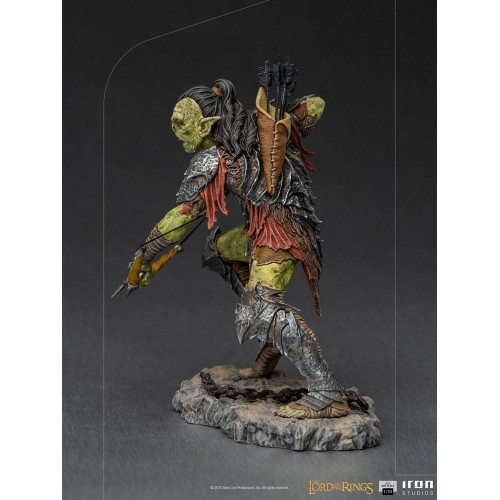 Lord Of The Rings BDS Art Scale Statue 1/10 Archer Orc 16 cm Iron Studios - 5