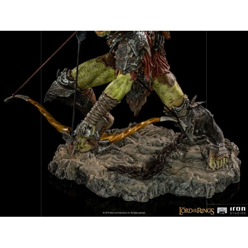 Lord Of The Rings BDS Art Scale Statue 1/10 Archer Orc 16 cm Iron Studios - 9