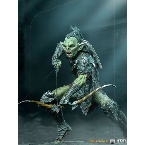 Lord Of The Rings BDS Art Scale Statue 1/10 Archer Orc 16 cm Iron Studios - 11