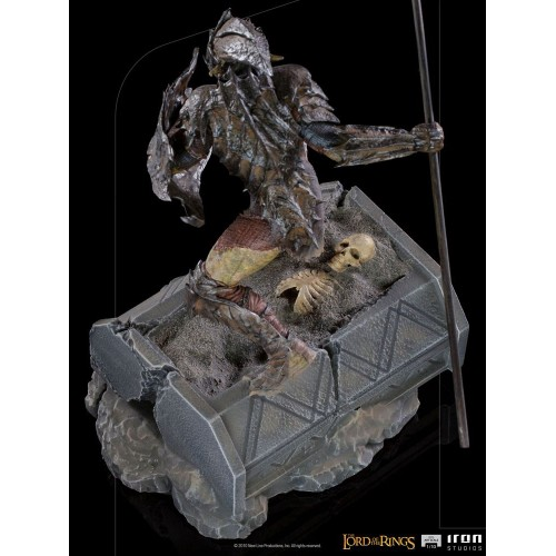 Lord Of The Rings BDS Art Scale Statue 1/10 Armoured Orc 20 cm Iron Studios - 3