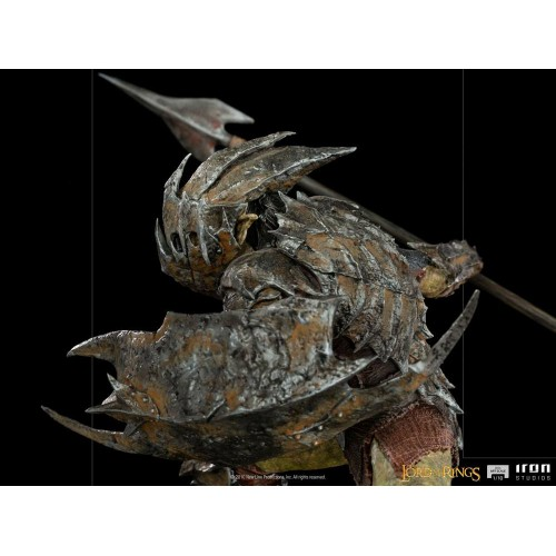 Lord Of The Rings BDS Art Scale Statue 1/10 Armoured Orc 20 cm Iron Studios - 4
