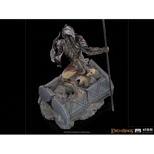 Lord Of The Rings BDS Art Scale Statue 1/10 Armoured Orc 20 cm Iron Studios - 5