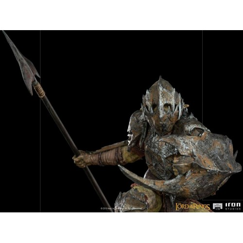 Lord Of The Rings BDS Art Scale Statue 1/10 Armoured Orc 20 cm Iron Studios - 7