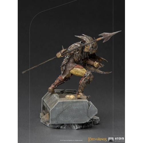 Lord Of The Rings BDS Art Scale Statue 1/10 Armoured Orc 20 cm Iron Studios - 8