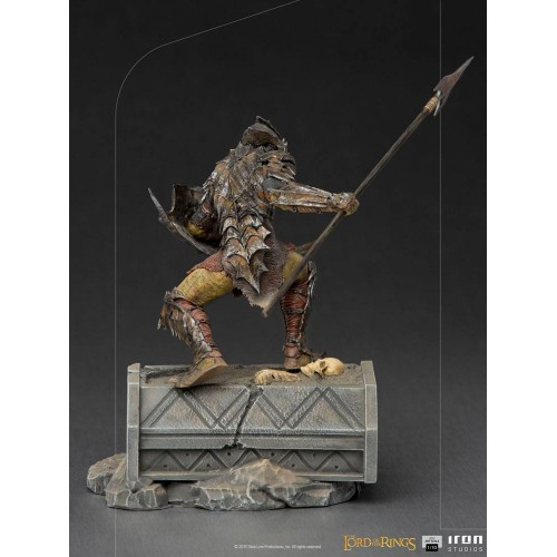 Lord Of The Rings BDS Art Scale Statue 1/10 Armoured Orc 20 cm Iron Studios - 9