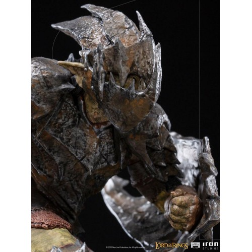 Lord Of The Rings BDS Art Scale Statue 1/10 Armoured Orc 20 cm Iron Studios - 11