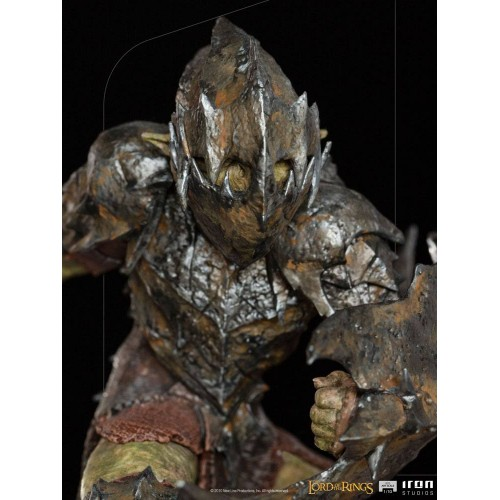 Lord Of The Rings BDS Art Scale Statue 1/10 Armoured Orc 20 cm Iron Studios - 12