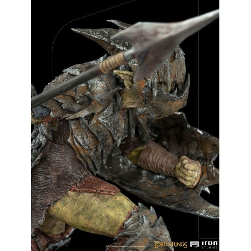 Lord Of The Rings BDS Art Scale Statue 1/10 Armoured Orc 20 cm Iron Studios - 14