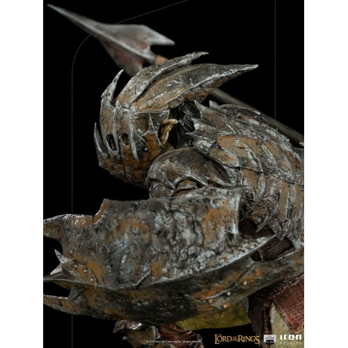 Lord Of The Rings BDS Art Scale Statue 1/10 Armoured Orc 20 cm Iron Studios - 15