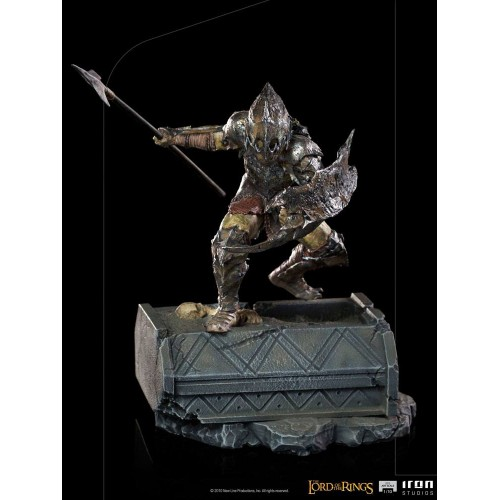 Lord Of The Rings BDS Art Scale Statue 1/10 Armoured Orc 20 cm Iron Studios - 16