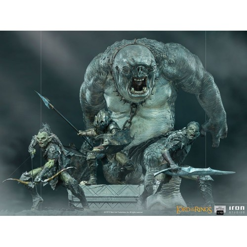 Lord Of The Rings BDS Art Scale Statue 1/10 Armoured Orc 20 cm Iron Studios - 21