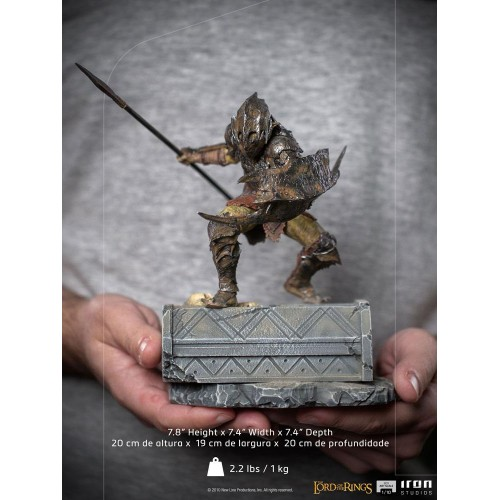 Lord Of The Rings BDS Art Scale Statue 1/10 Armoured Orc 20 cm Iron Studios - 22