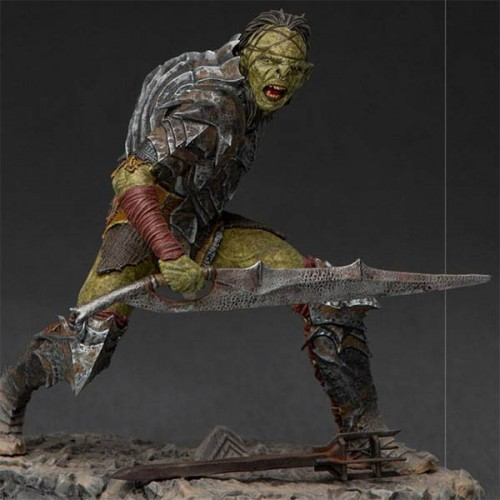 Lord Of The Rings BDS Art Scale Statue 1/10 Swordsman Orc 16 cm Iron Studios - 2