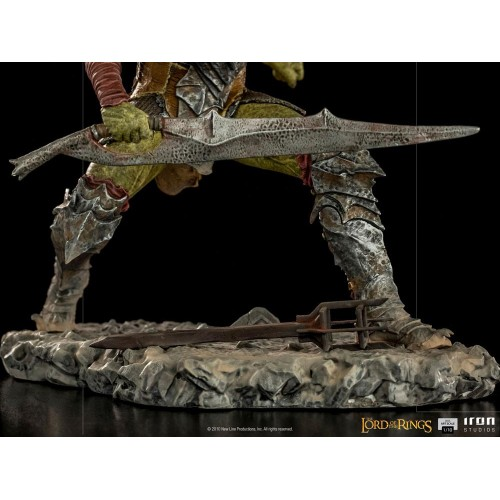 Lord Of The Rings BDS Art Scale Statue 1/10 Swordsman Orc 16 cm Iron Studios - 4
