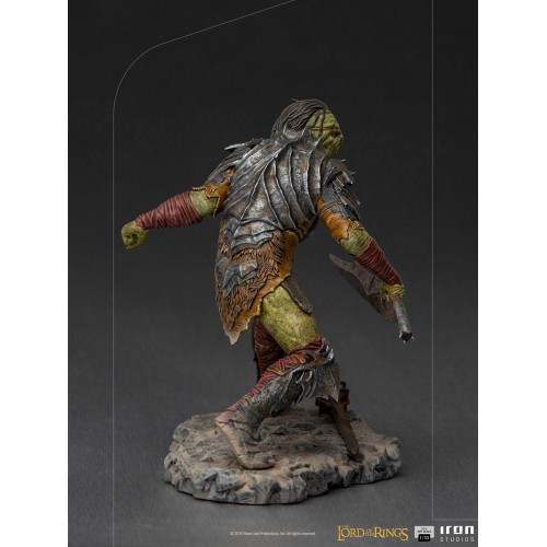 Lord Of The Rings BDS Art Scale Statue 1/10 Swordsman Orc 16 cm Iron Studios - 5
