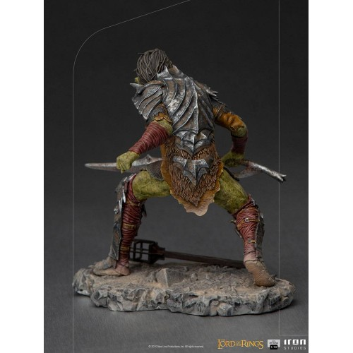 Lord Of The Rings BDS Art Scale Statue 1/10 Swordsman Orc 16 cm Iron Studios - 6