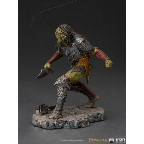 Lord Of The Rings BDS Art Scale Statue 1/10 Swordsman Orc 16 cm Iron Studios - 7