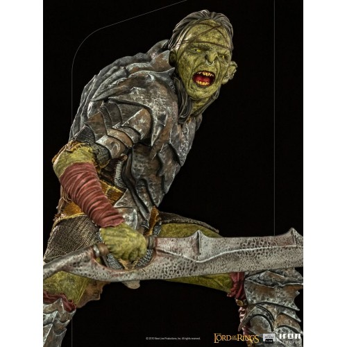 Lord Of The Rings BDS Art Scale Statue 1/10 Swordsman Orc 16 cm Iron Studios - 9