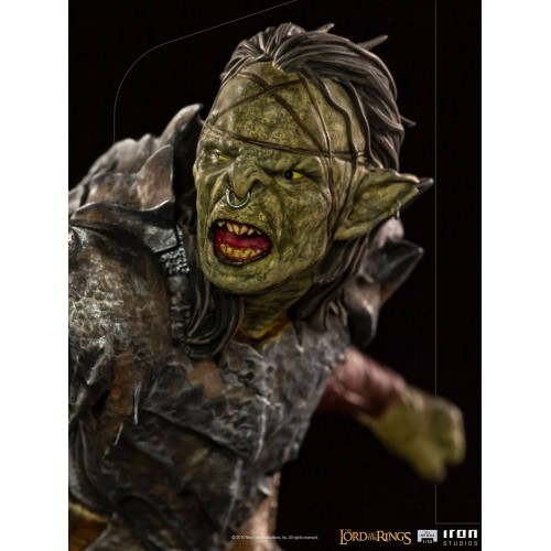 Lord Of The Rings BDS Art Scale Statue 1/10 Swordsman Orc 16 cm Iron Studios - 10