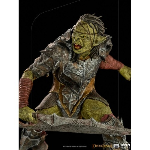 Lord Of The Rings BDS Art Scale Statue 1/10 Swordsman Orc 16 cm Iron Studios - 11